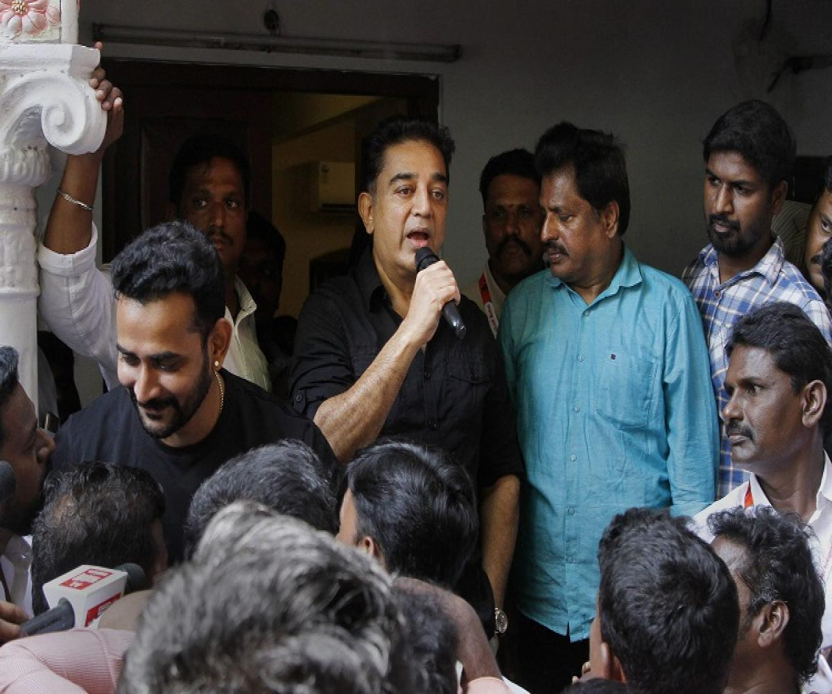 Kamal Haasan ready to lead third front in TN, in talks with various parties