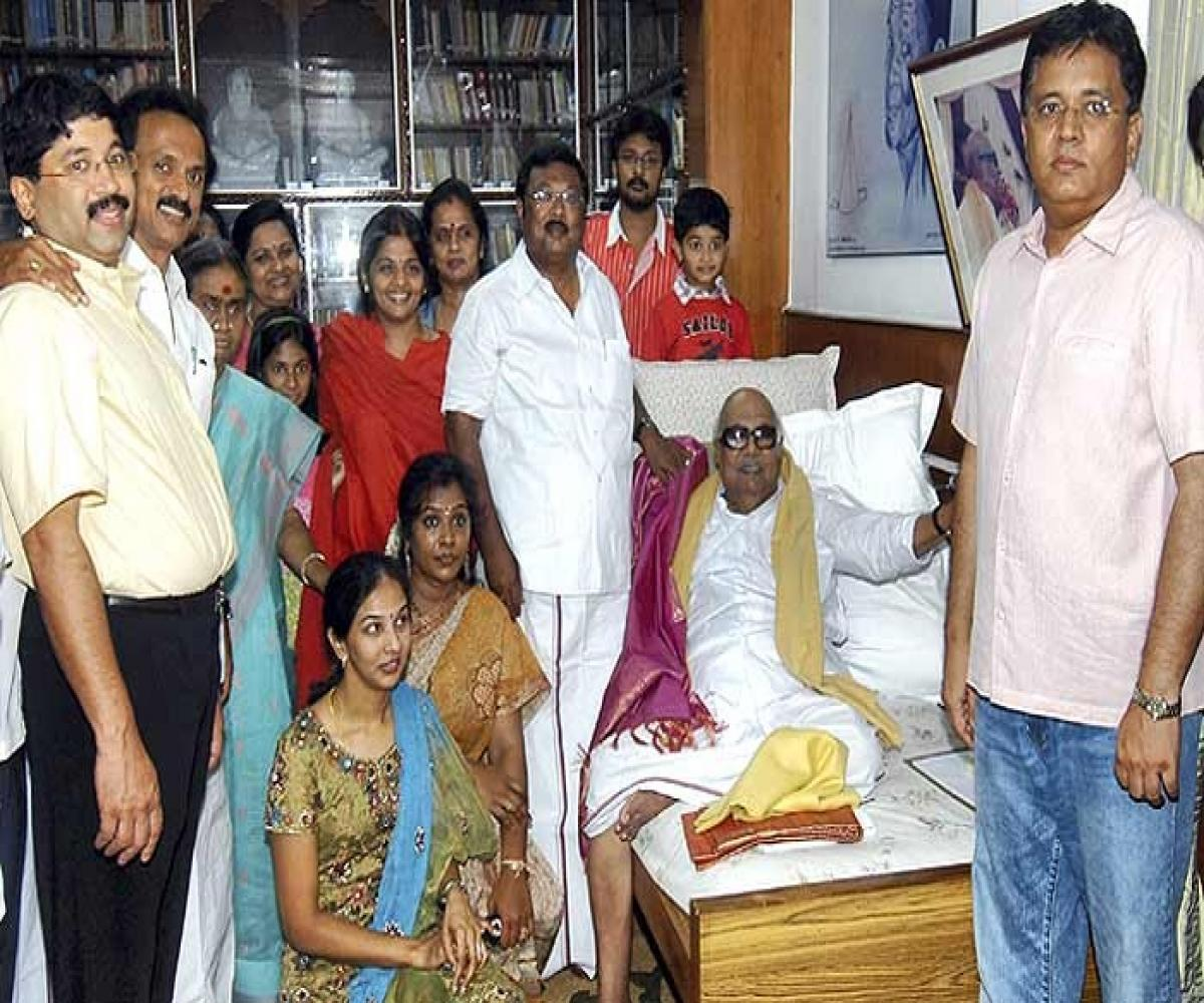 Meet the Karunanidhi clan: The vast family tree of TN's departed