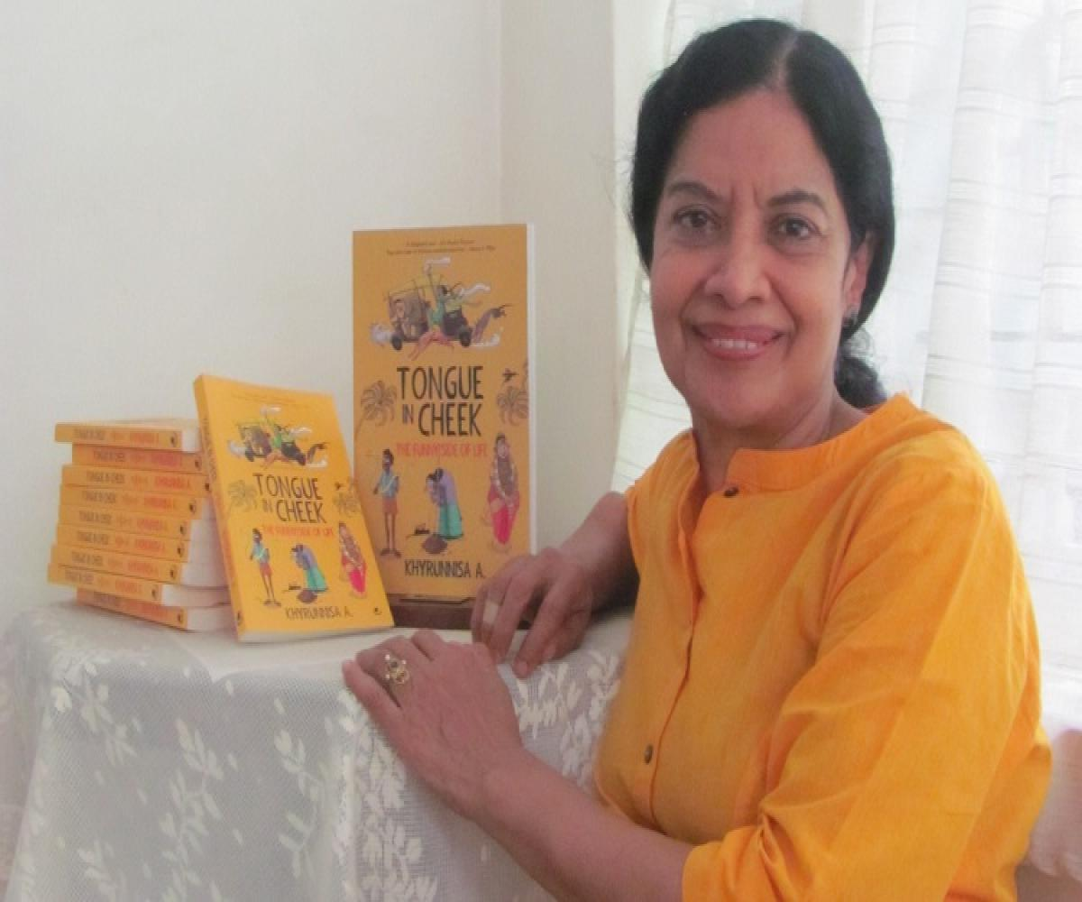Tongue in Cheek': Khyrunnisa's first book for grownups is