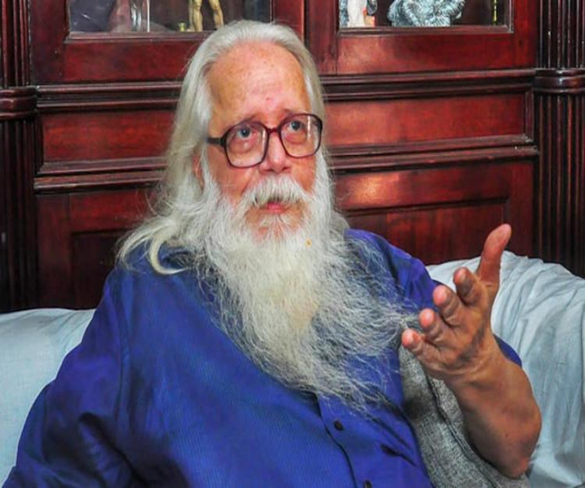 Kerala to pay former ISRO scientist Nambi Narayanan Rs 50 lakh