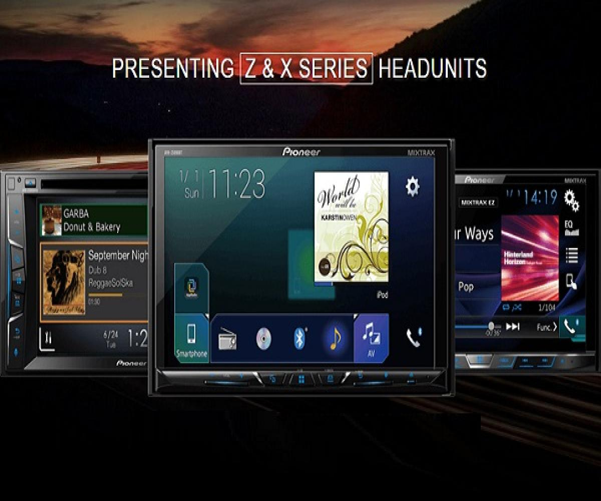 Pioneer Launches Z Series Touch Screen Car Infotainment Systems With