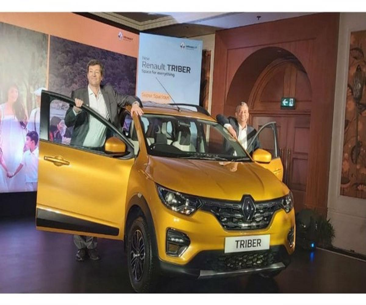 Renault Triber 7 Seater Launched In India At Rs 4 95 Lakh The News Minute