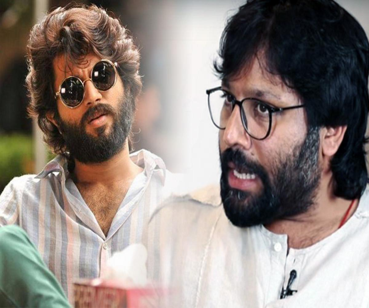 in bizarre intv arjun reddy director says it s not love if you can t slap each other the news minute in bizarre intv arjun reddy director