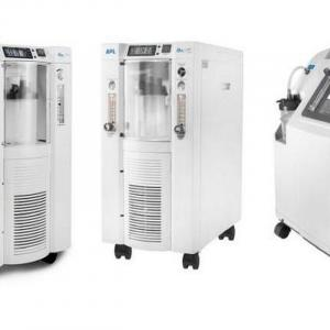Pictures of various BPL oxygen concentrators