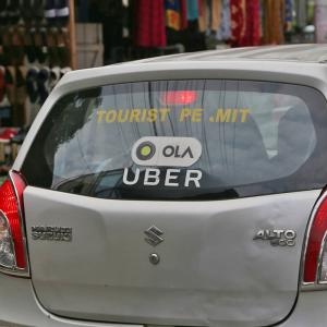 Ola Uber cabs