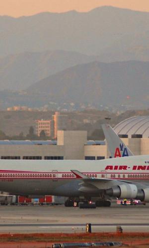 An Air India aircraft at an airport