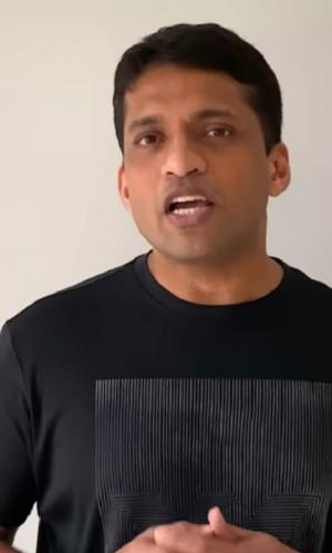 Byjus Raveendran is the founder of the Byjus app
