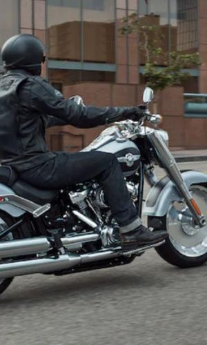 Harley Davidson Fat boy bike