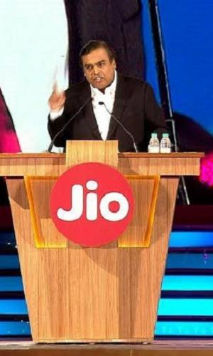 Mukesh Ambani at Reliance AGM