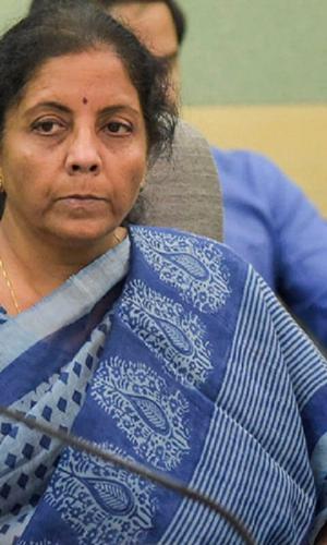FM Nirmala Sitharaman during a press conference
