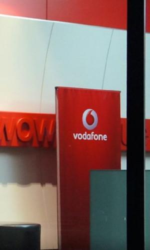 Vodafone sign board