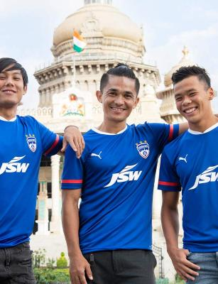 Bengaluru FC launches new home kit with JSW Group returning as sponsors