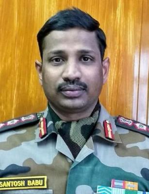 Col Santhosh Babu, killed in Galwan Valley clash, awarded Mahavir Chakra