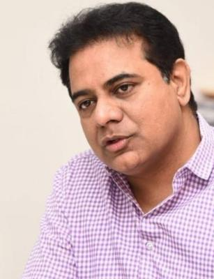 Telangana Cong Pres accuses KTR of building illegal farmhouse, NGT sends notice