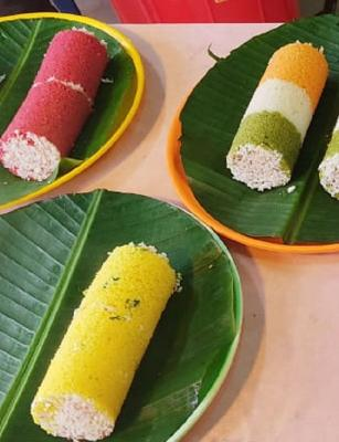 Ever had a 'political puttu' for breakfast? This shop in Kerala specialises in it