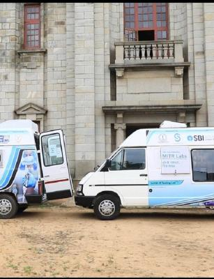 Bengaluru gets mobile COVID-19 lab for RT-PCR testing