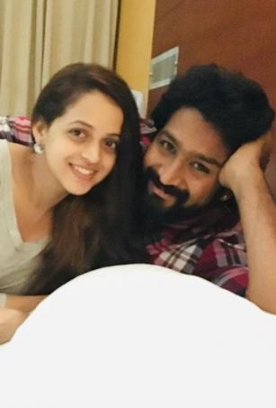 Bhavana posts pictures for third wedding anniversary