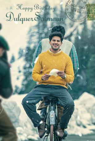 On Dulquer's birthday, his look as 'Lieutenant Ram' from upcoming Telugu film out