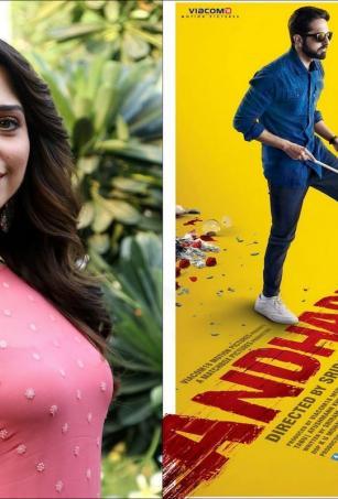 Tamannaah to reprise Tabu's role in 'Andhadhun' Telugu remake