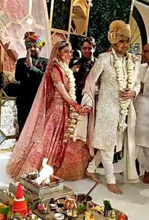 In pics: Kajal Aggarwal-Gautam Kitchlu's beautiful wedding ceremony