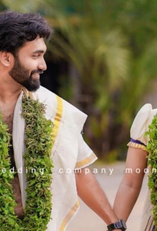 In pics: Popular Malayalam TV anchor Meera Anil marries businessman Vishnu