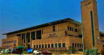 AP High Court building in Amaravati