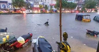 The IMD has forecast heavy to very heavy rainfall in Adilabad Karimnagar Nizamabad Warangal and Khammam districts