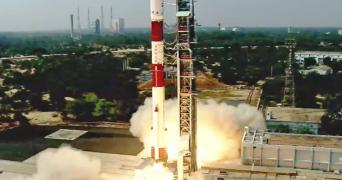 ISRO's PSLV-C51 carrying Amazonia-1 and 18 other satellites lifts off from Satish Dhawan Space Centre, Sriharikota
