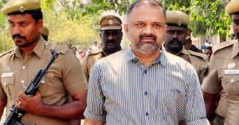 AG Perarivalan in police custody appearing in court