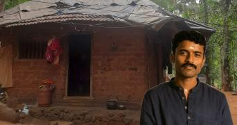 Kasaragod native R Renjith and the one-room house he grew up in