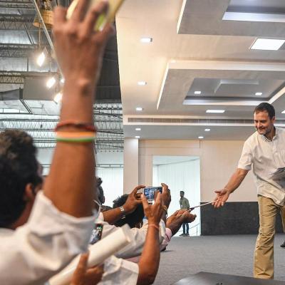 Nagpur can never determine the future of Tamil Nadu:Rahul Gandhi