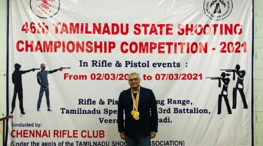 Actor Ajith bags six gold, silver medals in TN state rifle shooting competition