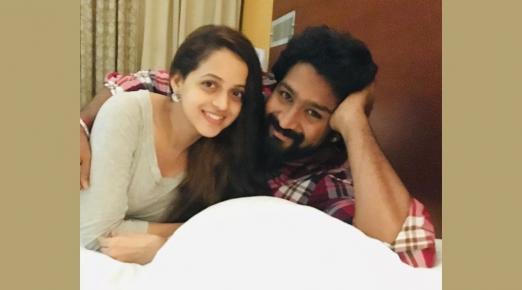 Bhavana posts pictures for third wedding anniversary