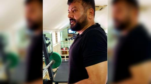 Now, Jayaram posts workout pictures of himself