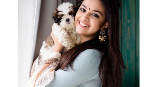 Keerthy Suresh heads to Dubai for 'Sarkaru Vaari Paata' shoot, shares pic of pet dog