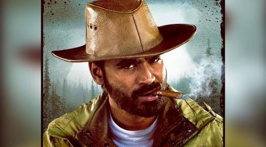 Dhanush strikes a stylish pose in new poster of Naane Varuven