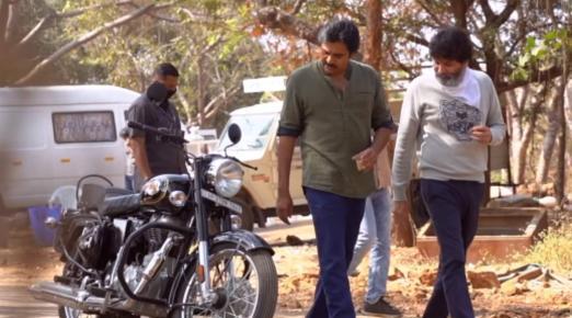 Watch: Pawan Kalyan shoots for 'Ayyappanum Koshiyum' remake