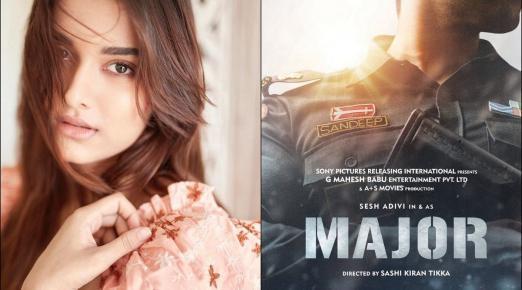 Saiee Manjrekar to make Telugu film debut with Adivi Sesh's 'Major'