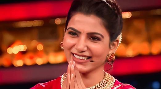 Samantha Akkineni plays guest host in Telugu 'Bigg Boss 4'