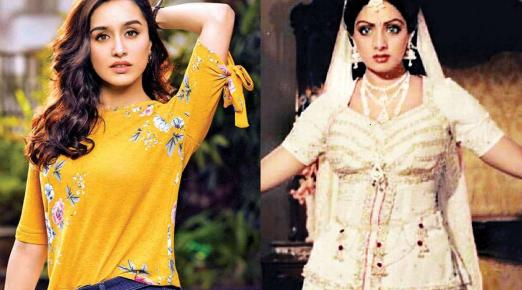 Shraddha Kapoor in Sridevi's 'Nagina' remake