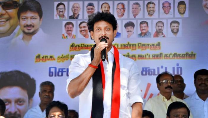 Tamil Nadu Education Minister Anbil Mahesh Poyyamozhi