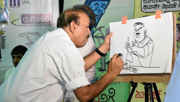 Spreading the message through cartoons Cartoon Habba set to begin in Ktaka