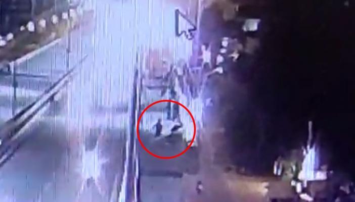 Screengrab of the CCTV footage