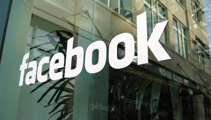 Logo at Facebook office