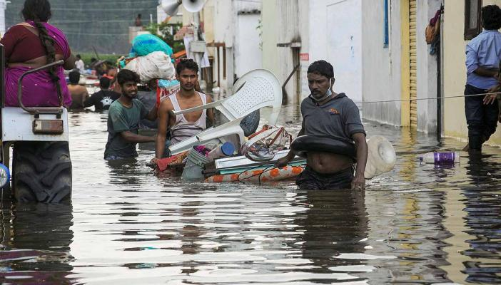 Telangana rains Death toll rises to 70 state on high alert