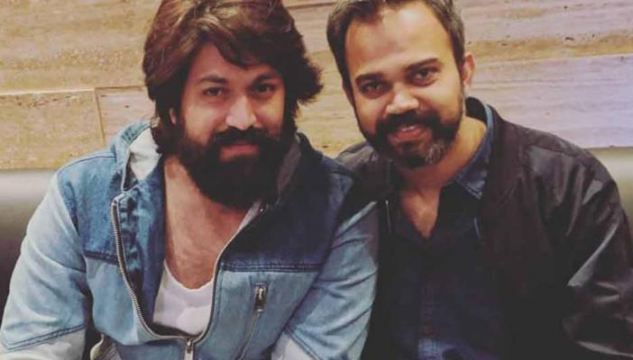 Photo of Prashanth Neel and Yash from a restaurant