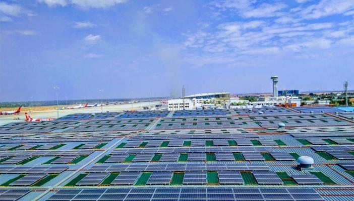 Bengaluru airport inaugurates solar-powered rooftops