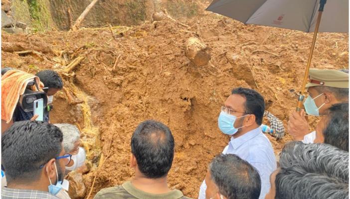 Officials visiting Kokkayar