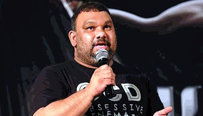 File image of Mahesh Kathi speaking at an event