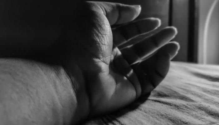 Close up of a person's hand
